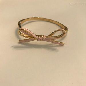 Kate Spade Pink Bow Bracelet